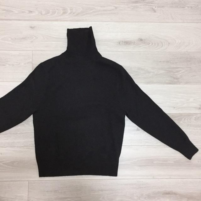 UNIQLO期間限定価格のカシミヤセーター比較【momoko_fashion】_1_1-2