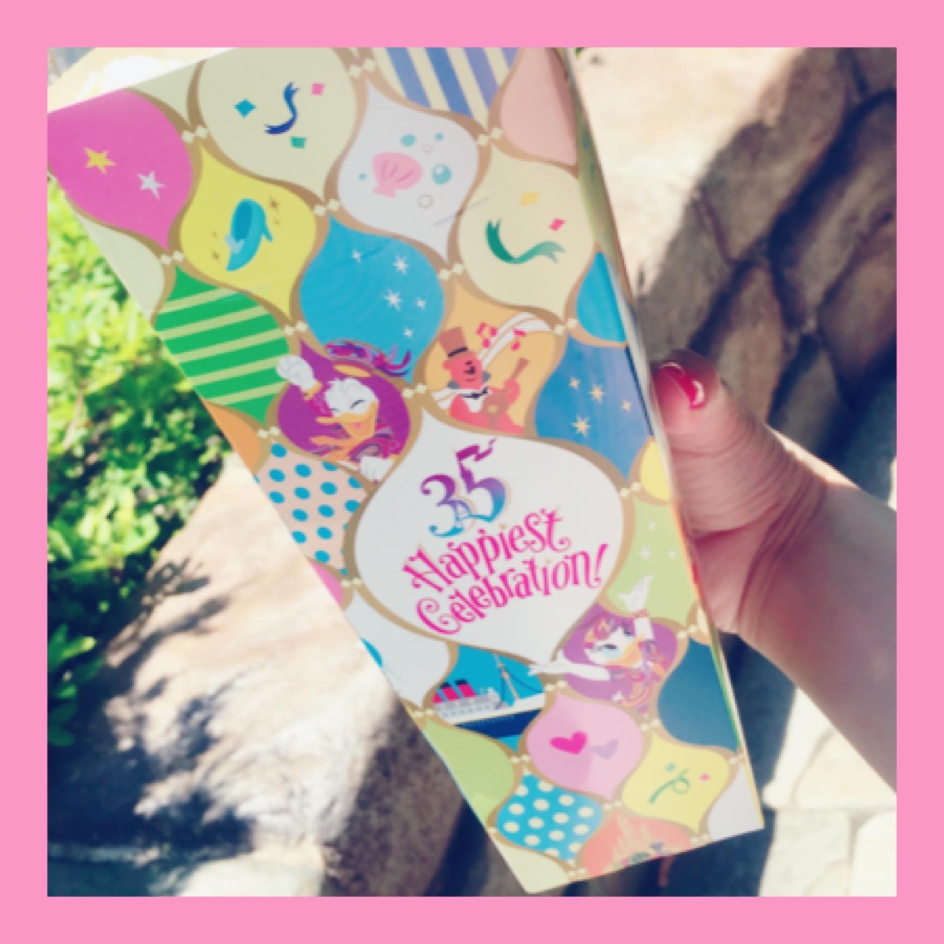 Tokyo Disneyland《 35 Happiest Gelebration! 》スペシャルフード編♫_1_2-1
