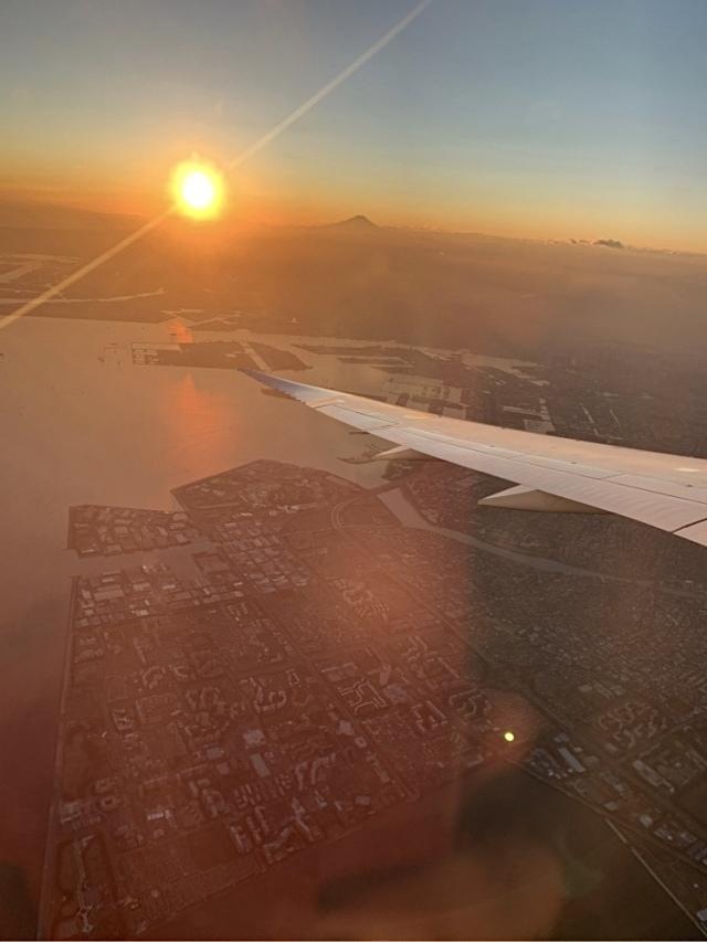 飛行機 機上