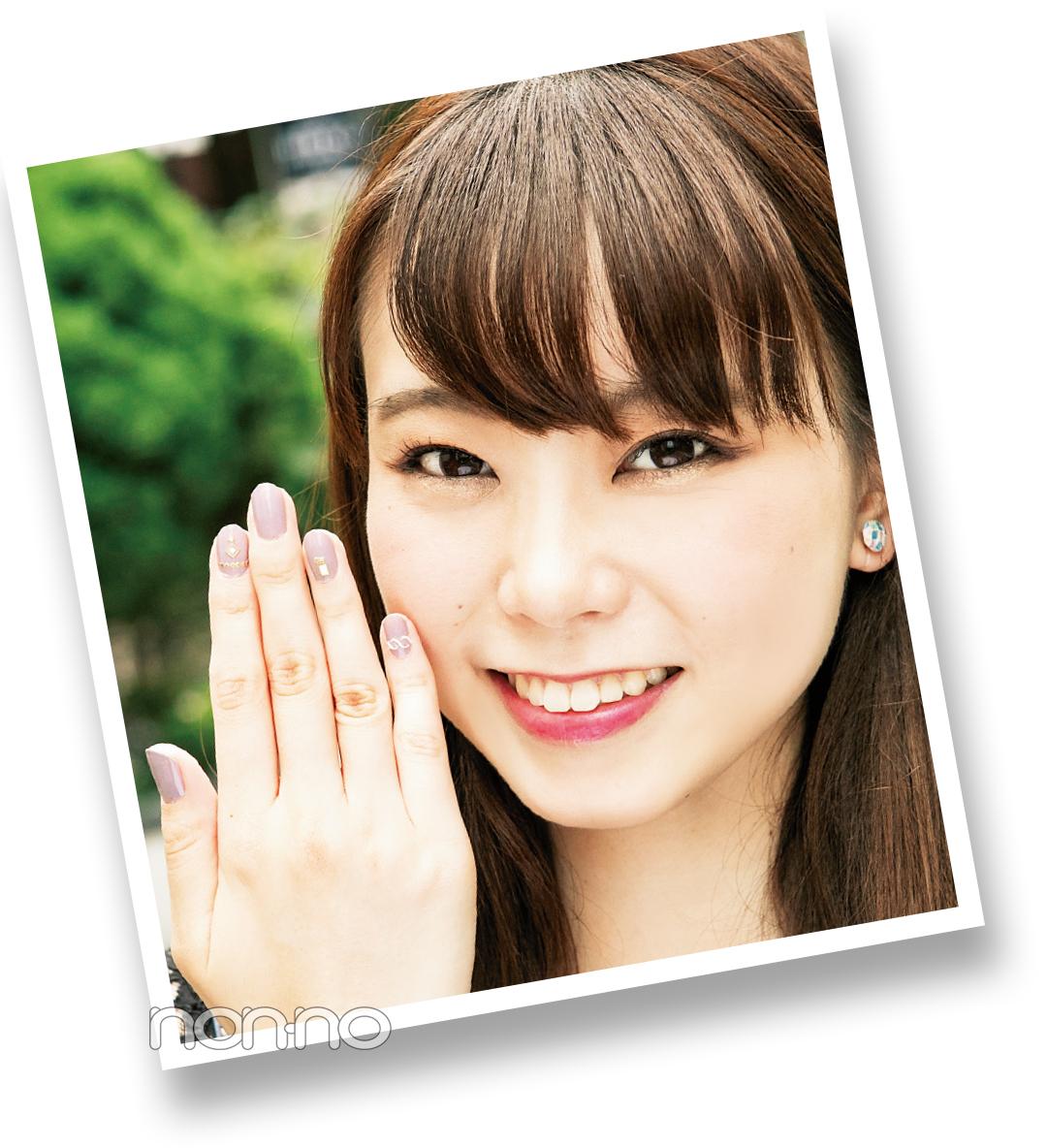 ノンノ専属読モ・カワイイ選抜が9月から取り入れてる秋ネイルって?  _2_1