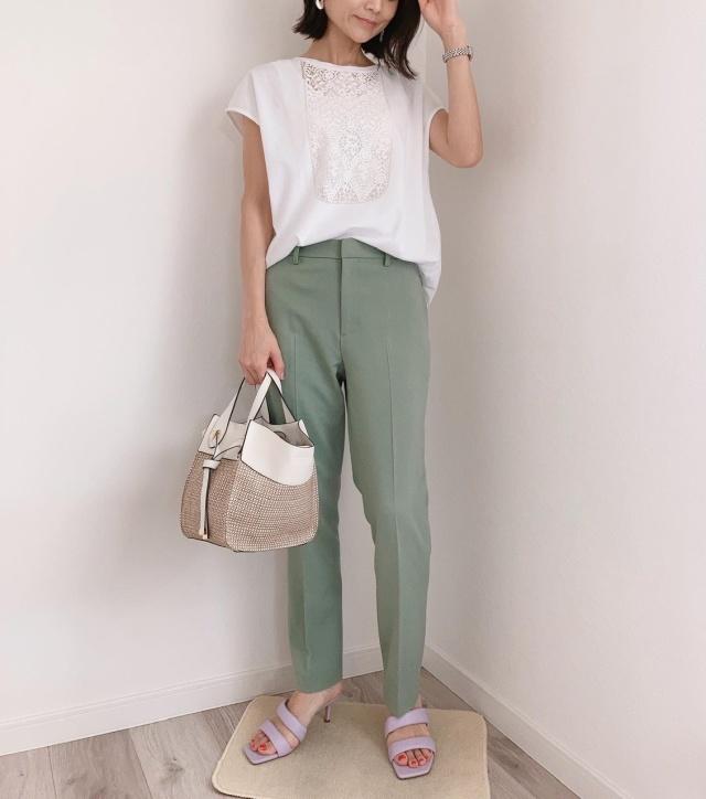 最近の夏コーデ【@momoko_fashion】_1_4-1