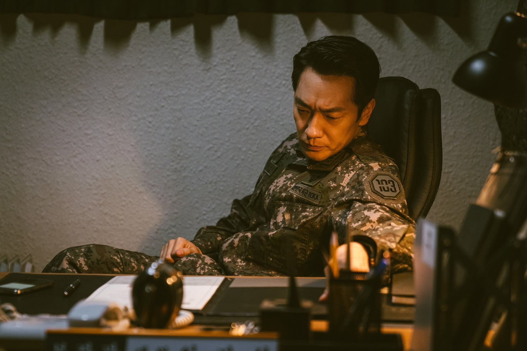 D.P.司令官役のソン・ソック