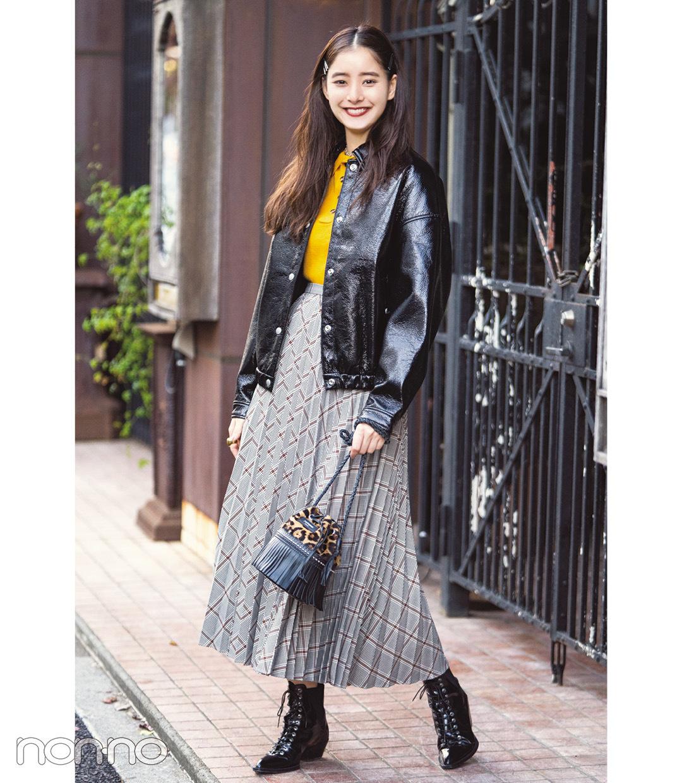 新木優子は黒の天才★真冬の私服コーデをチェック!【モデルの私服】_1_2