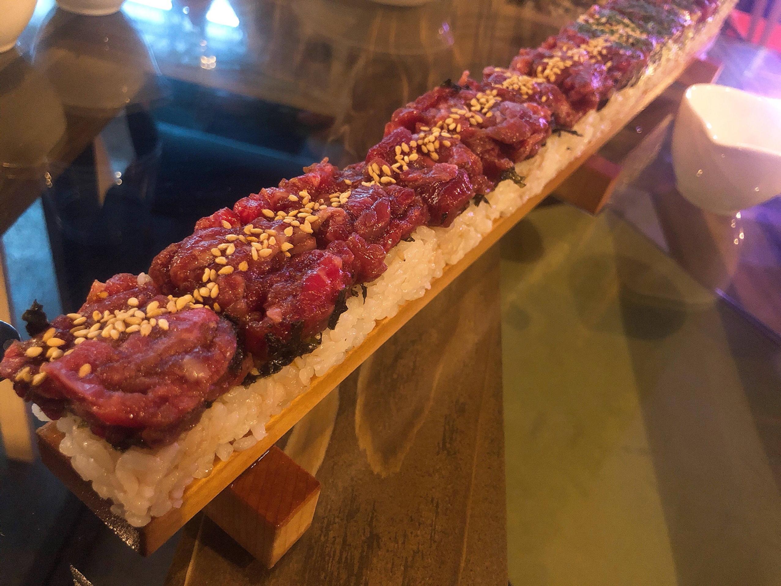 Vol.65♡ 50cm?!巨大ユッケ寿司が食べられるお店【PALLET46】_1_3-2