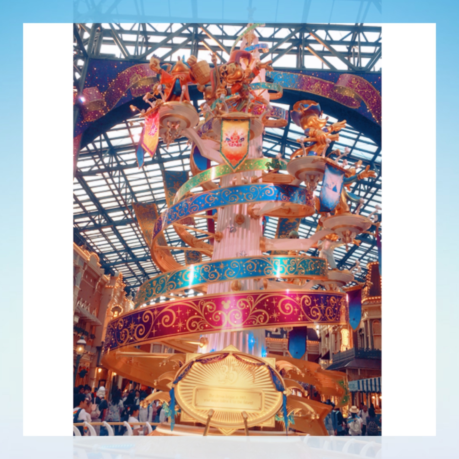 Tokyo Disneyland《 35 Happiest Gelebration! 》に行ってきました♫_1_3-2