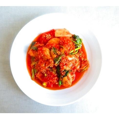 錆びないカラダに。チキン・キヌア・カブのトマト煮レシピ_1_1