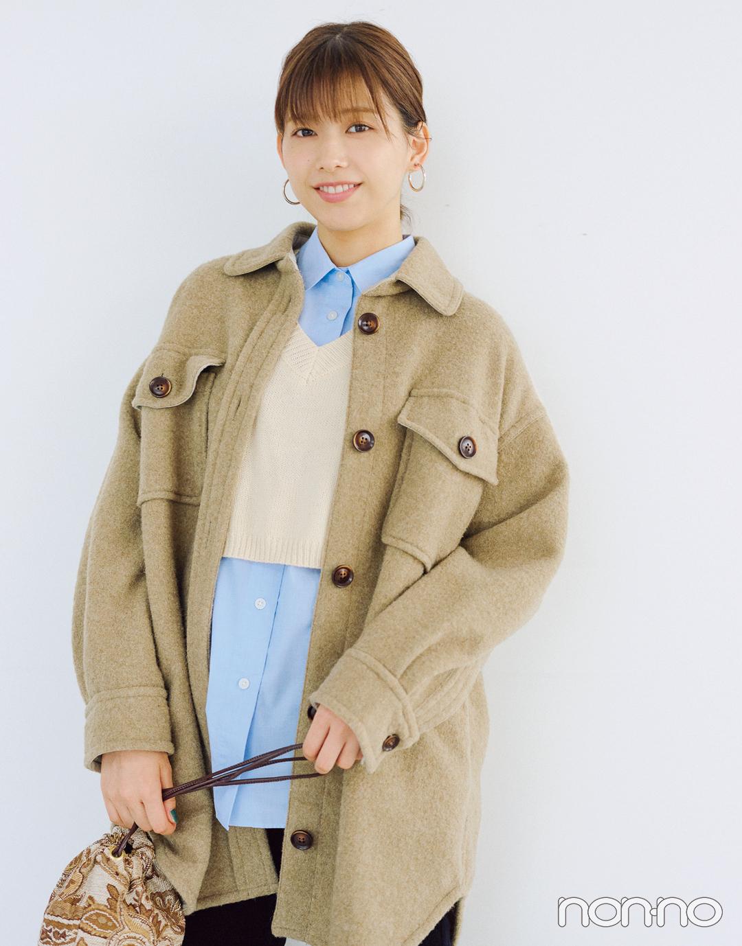 ジャケット+パンツでも女らしく見せるコツって?ジャケットQ&A第二弾★_1_3-1