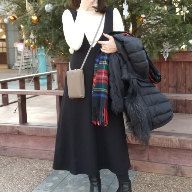 大人可愛いジャンパースカートとわが家の手抜きクリスマス♡_1_3