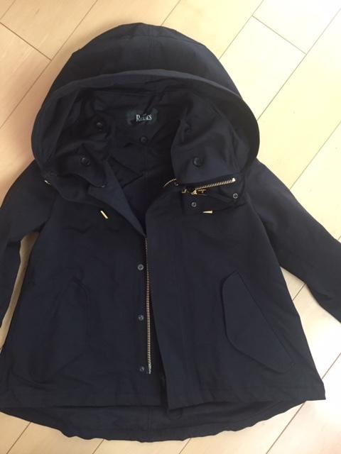 ザ・リラクスのショートモッズコート♡まだまだ寒暖差の多い今こそ、マストアイテム!_1_1