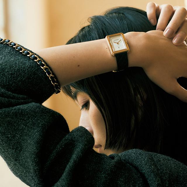 シャネル「ボーイフレンド」腕時計