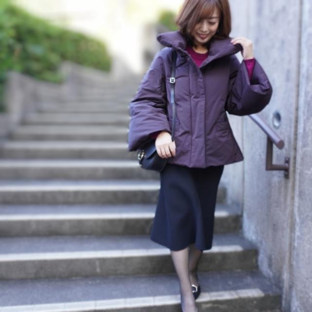【ユニクロ+J】シルエット重視ダウンジャケット_1_2
