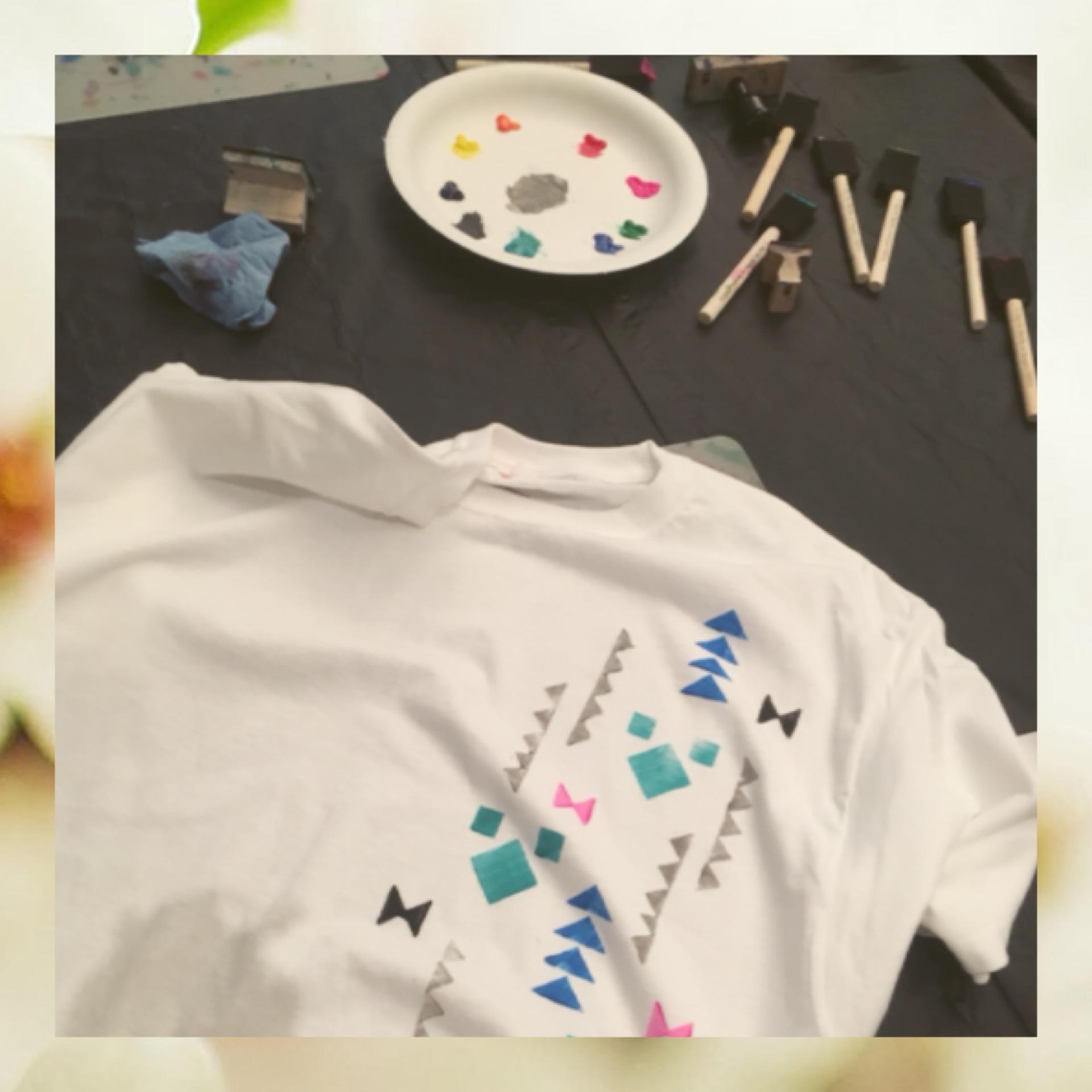 《カルチャーアクティビティ&ショー》フラ体験とTシャツ作りに挑戦 ٭¨̮♫ _1_2-3