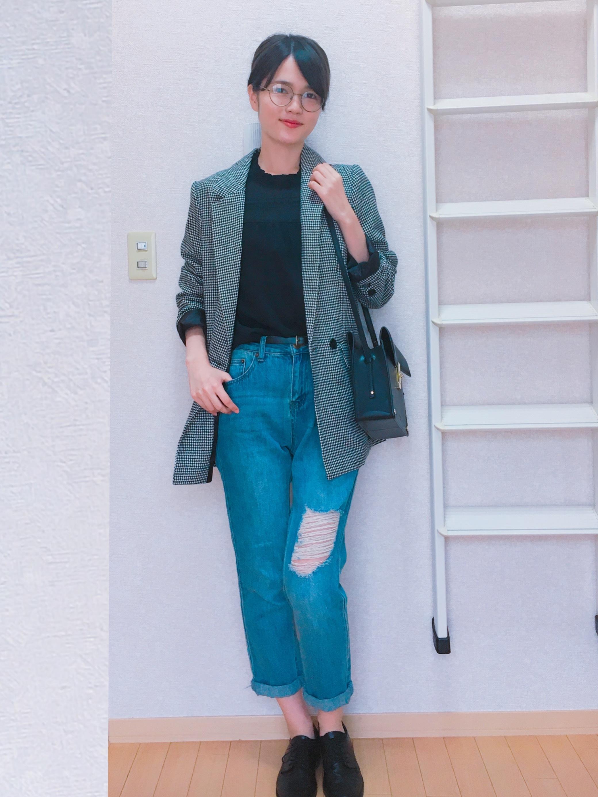 ^o^第36回【服はほぼプチプラ】ジャケットを使ったコーデ3選〜!_1_2