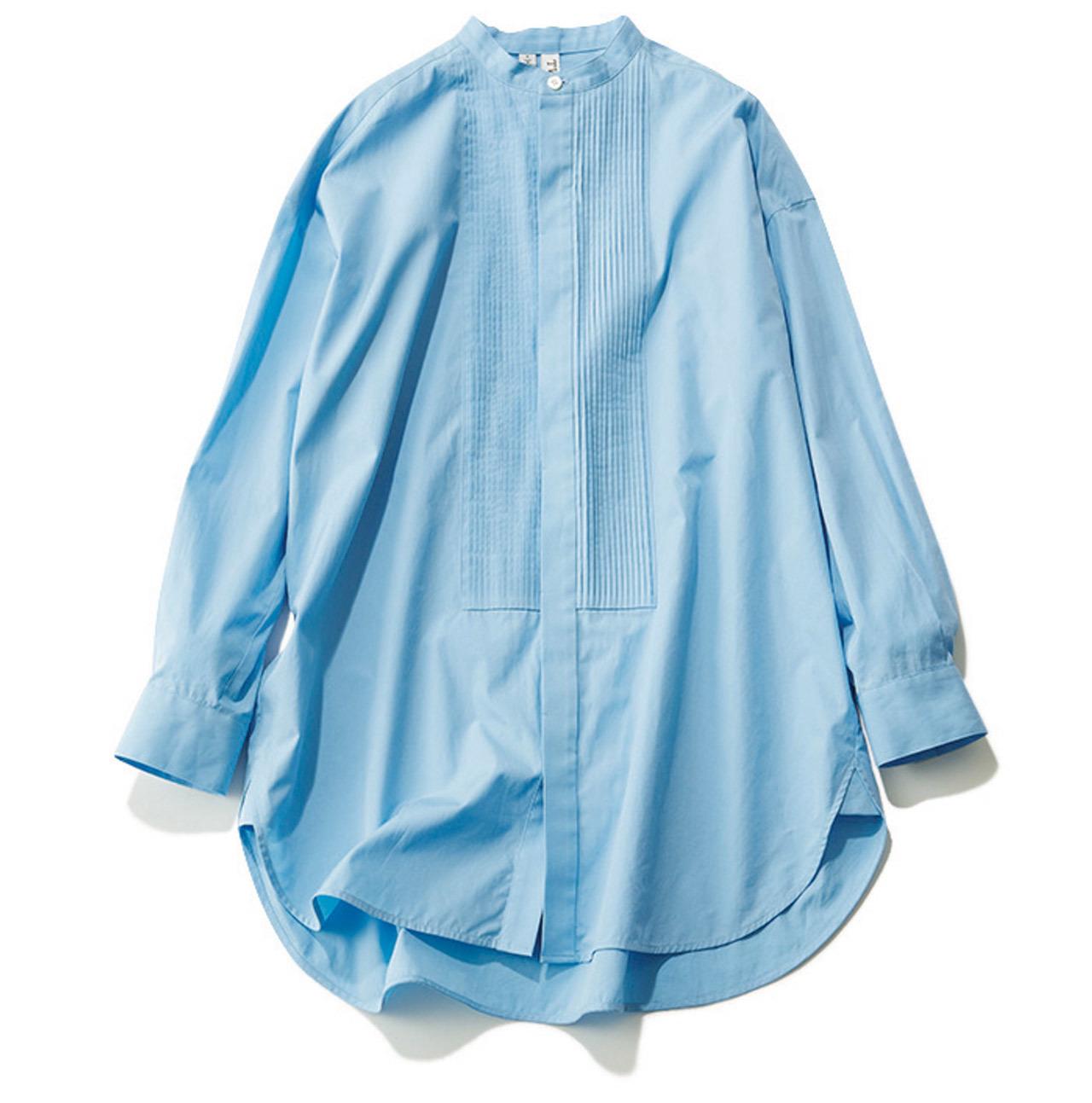 BAND COLLAR SHIRT/バンドカラーシャツ