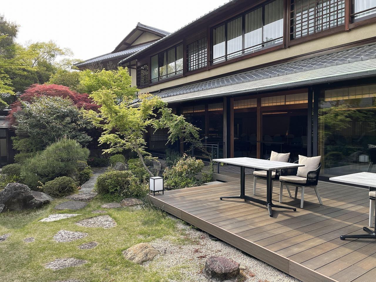 日本の庭園を楽しみながらアフタヌーンティー。_1_3