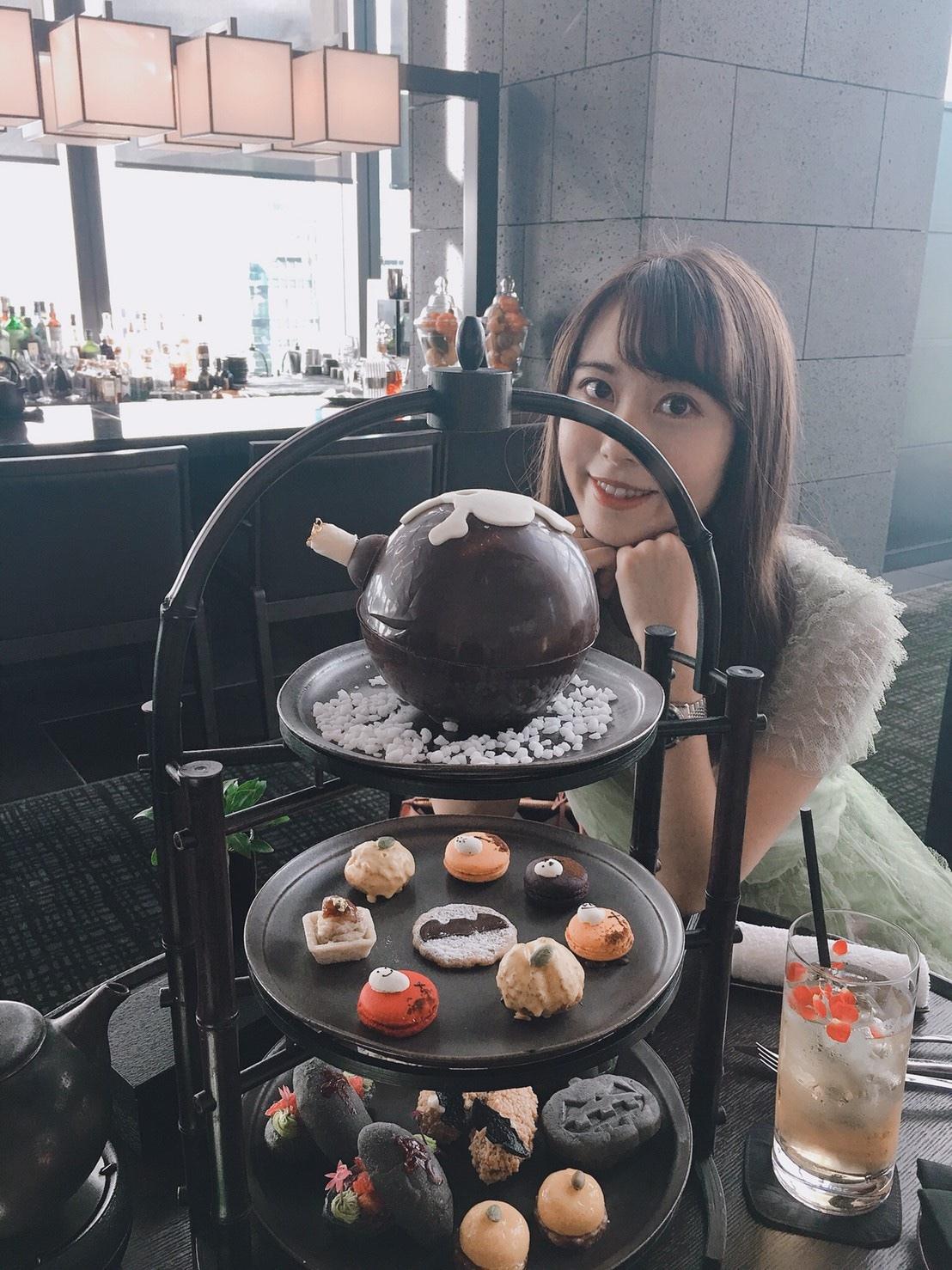 ブラックアフタヌーンティー♡アマン東京のハロウィン_1_1