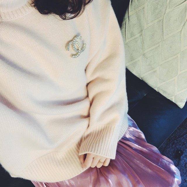 一目惚れ厳選pinkニットコーデ_1_3