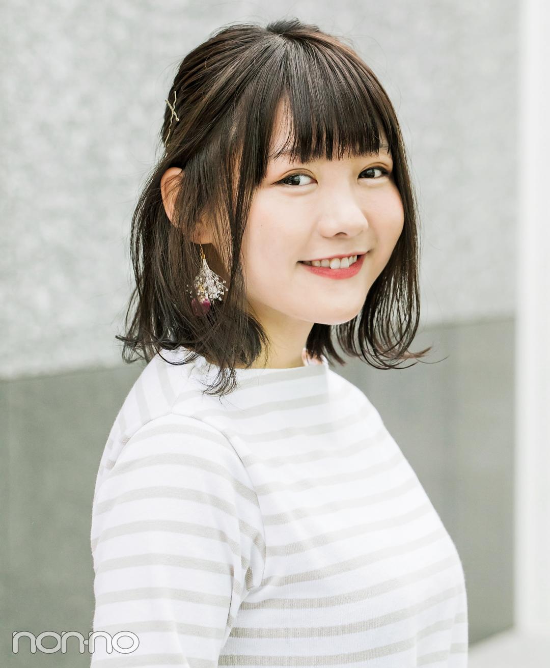 簡単ヘアアレンジ★ 外ハネ&ハーフアップで小顔に!【カワイイ選抜】_1_2