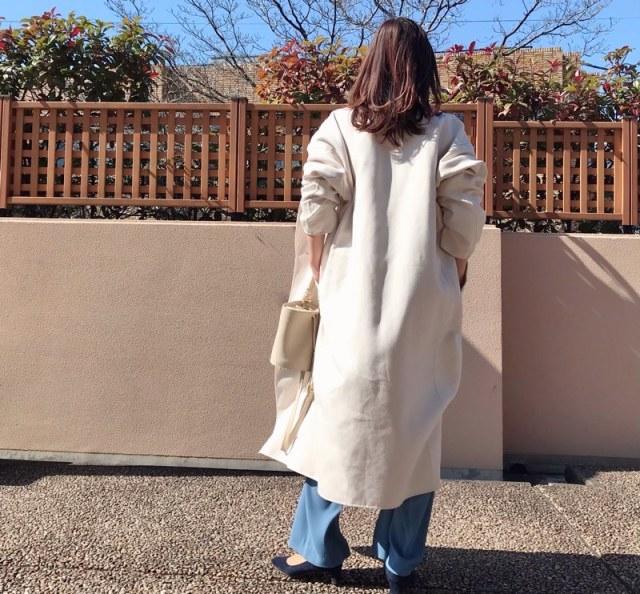 コート1枚で旬顔になれる♪ニュアンスカラーで作る春コーデ♡ _1_7