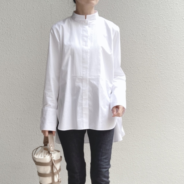 【ユニクロ+J】春夏のおすすめシャツで上下UNIQLOコーデ_1_6-1