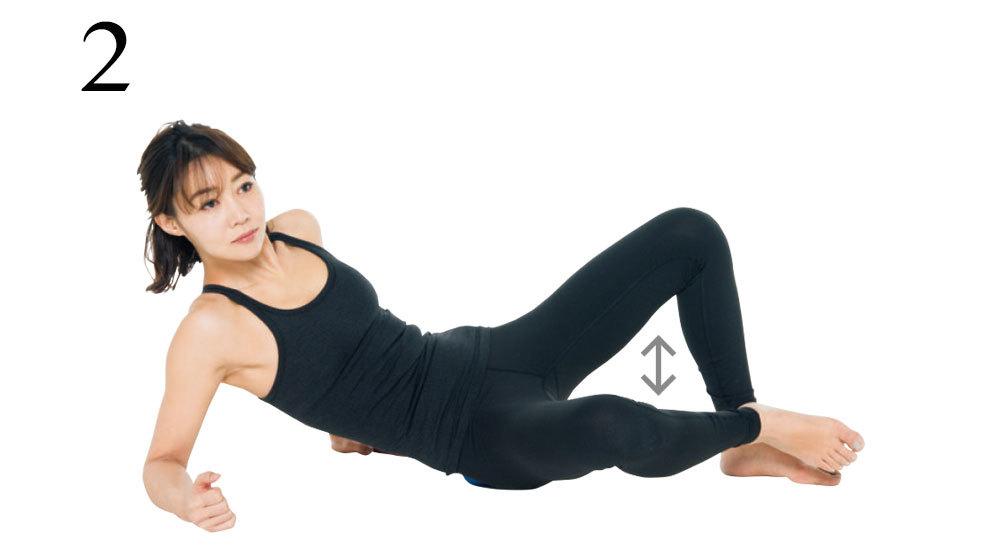 <ひっこめ!腹肉・腰肉>Step1筋膜をほぐして、外側の筋肉を緩める・下半身編_1_6