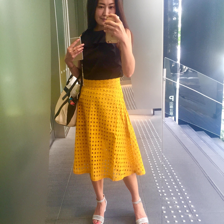 褒められアイテム、幸せを呼ぶ?黄色のスカート_1_1-2