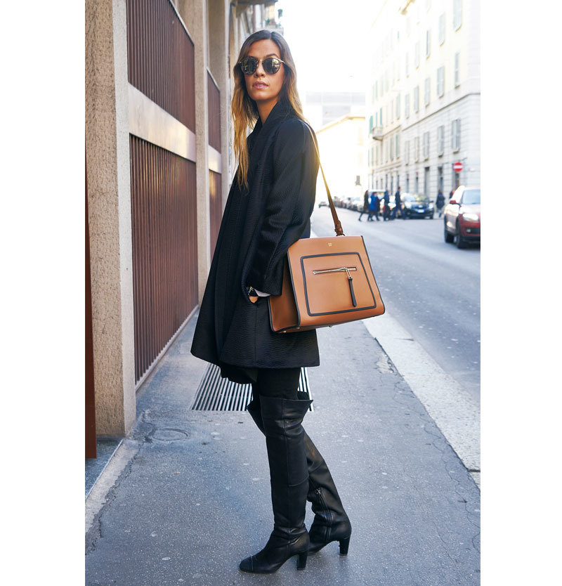 着こなしの格上げは 「クラシックバッグ」に おまかせ【ファッションSNAP ミラノ・パリ編】_1_1-1