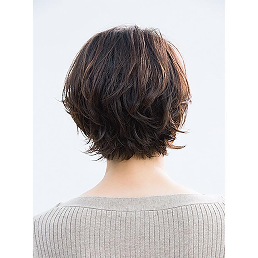 素髪の延長のような抜け感。40代のためのショートヘアスタイル月間ランキングTOP10_1_6