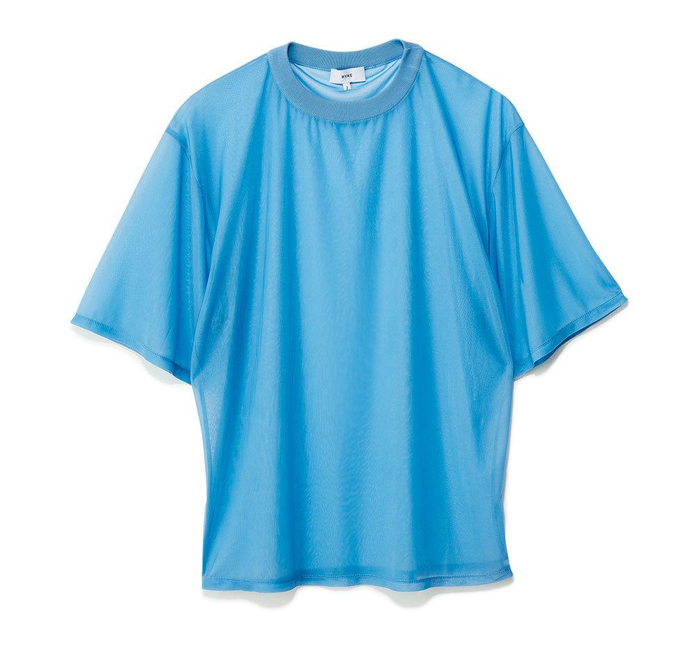 ブルーシアーTシャツ