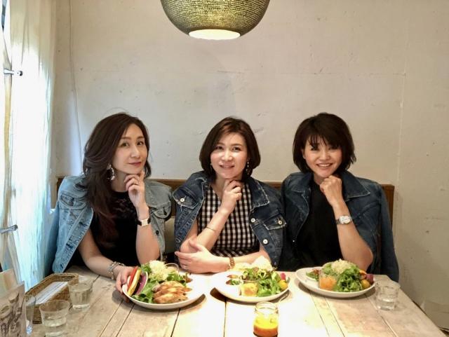 デニムジャケットでリンク✨ ヴィーガンレストランでヘルシー女子会_1_1