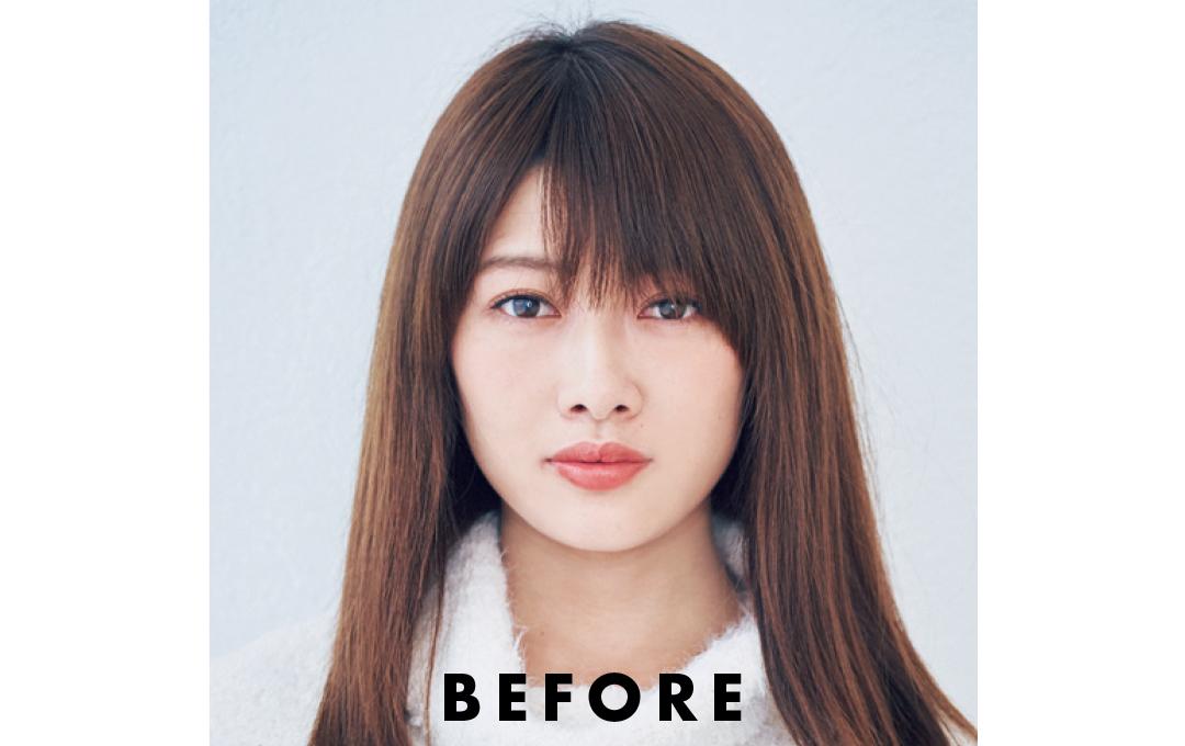 馬場ふみかの厚め前髪の作り方を超ていねい解説!【2019年★髪型を変える!】_1_4-3