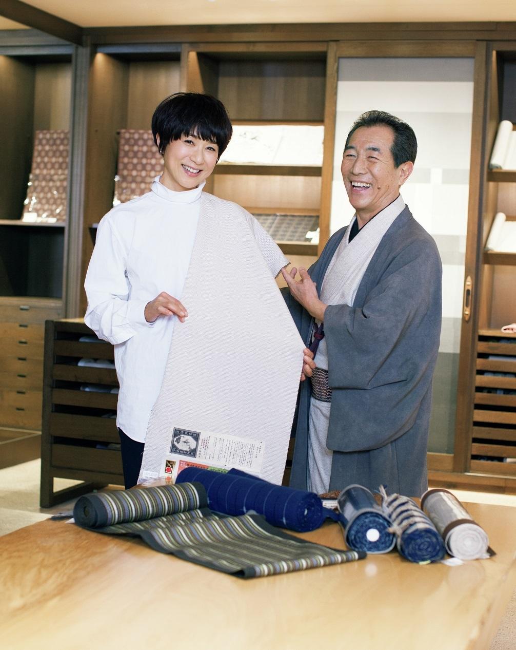 「銀座もとじ」さんで、黒田知永子さんの着物トーク会を開催!_1_1