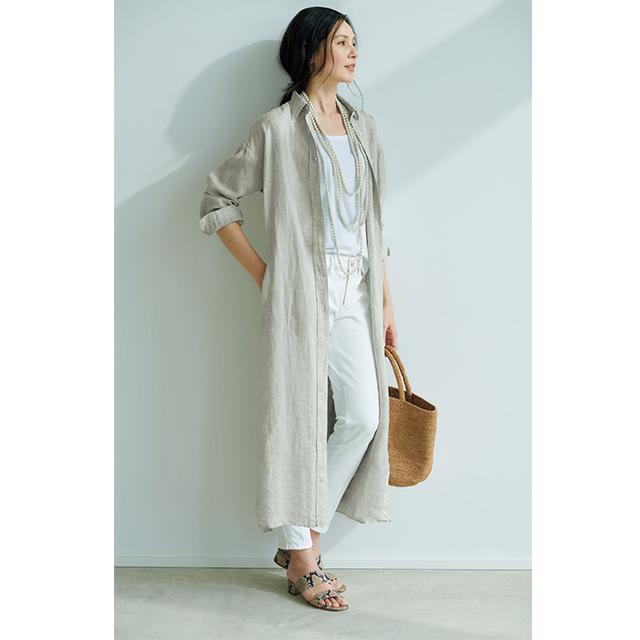 池田奈加子さんと待望のコラボ!  1枚で着られて涼しい「雰囲気出しワンピース」 五選_1_1-5