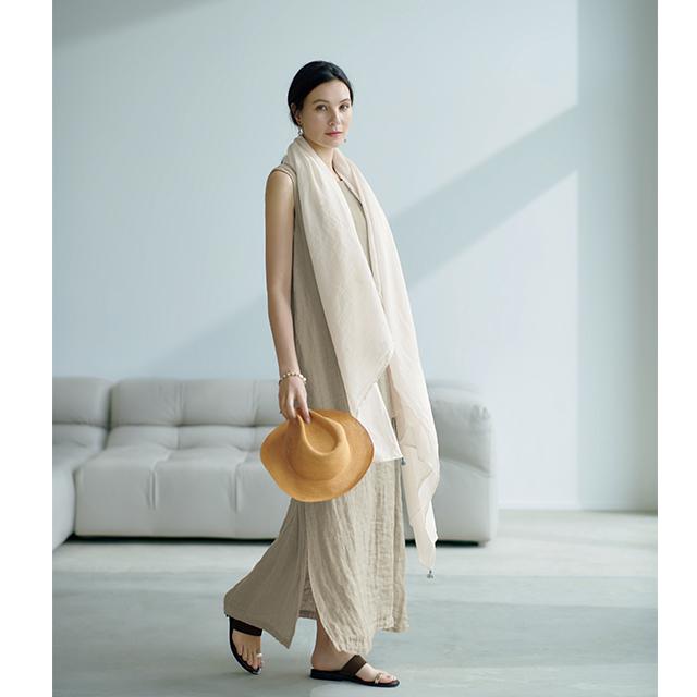 池田奈加子さんと待望のコラボ!  1枚で着られて涼しい「雰囲気出しワンピース」 五選_1_1-3