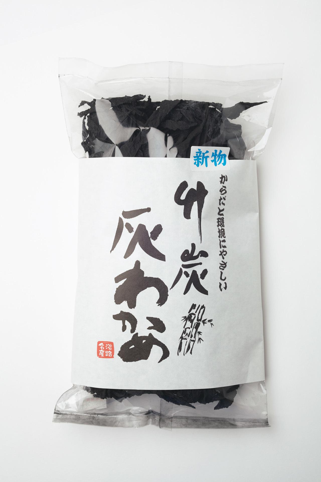食感が抜群 ユーアールエーの「竹炭灰わかめ」_1_1