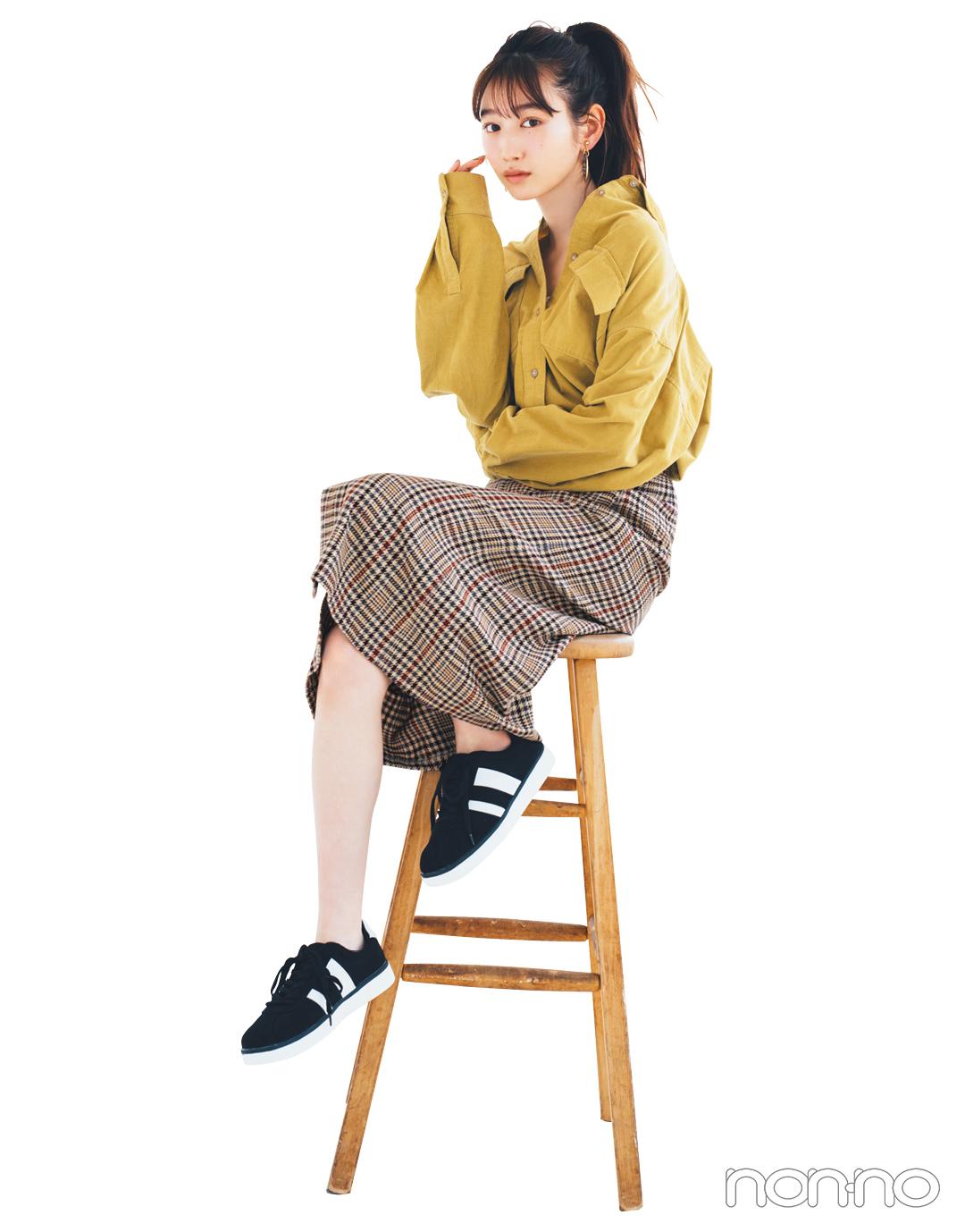 GUの秋新作スカートが神! 1990円で7通りに着回せる★_1_4-3