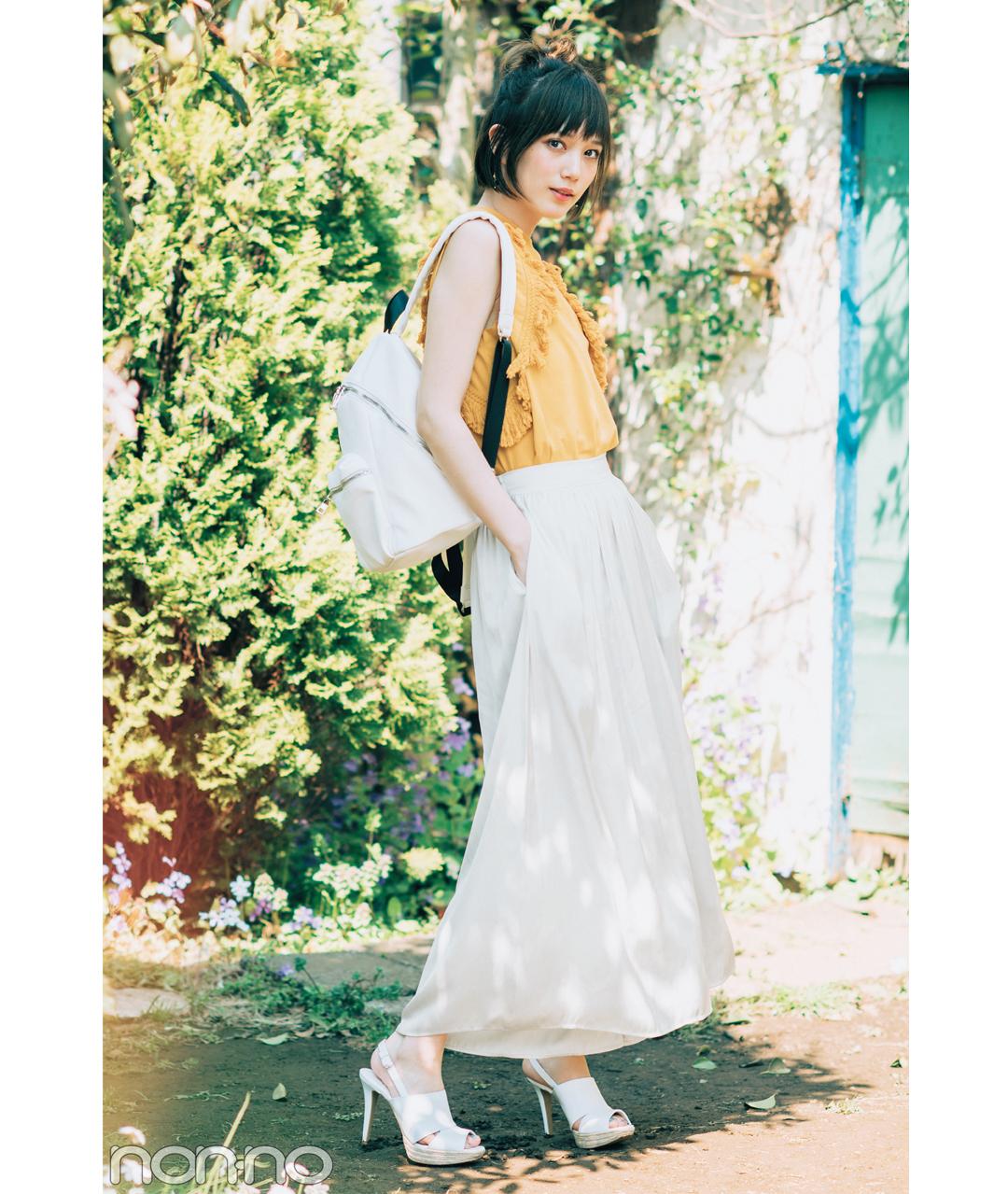 本田翼のスカーチョ着回し3スタイル★カジュアルも大人っぽも、こう着るのが正解!_1_2