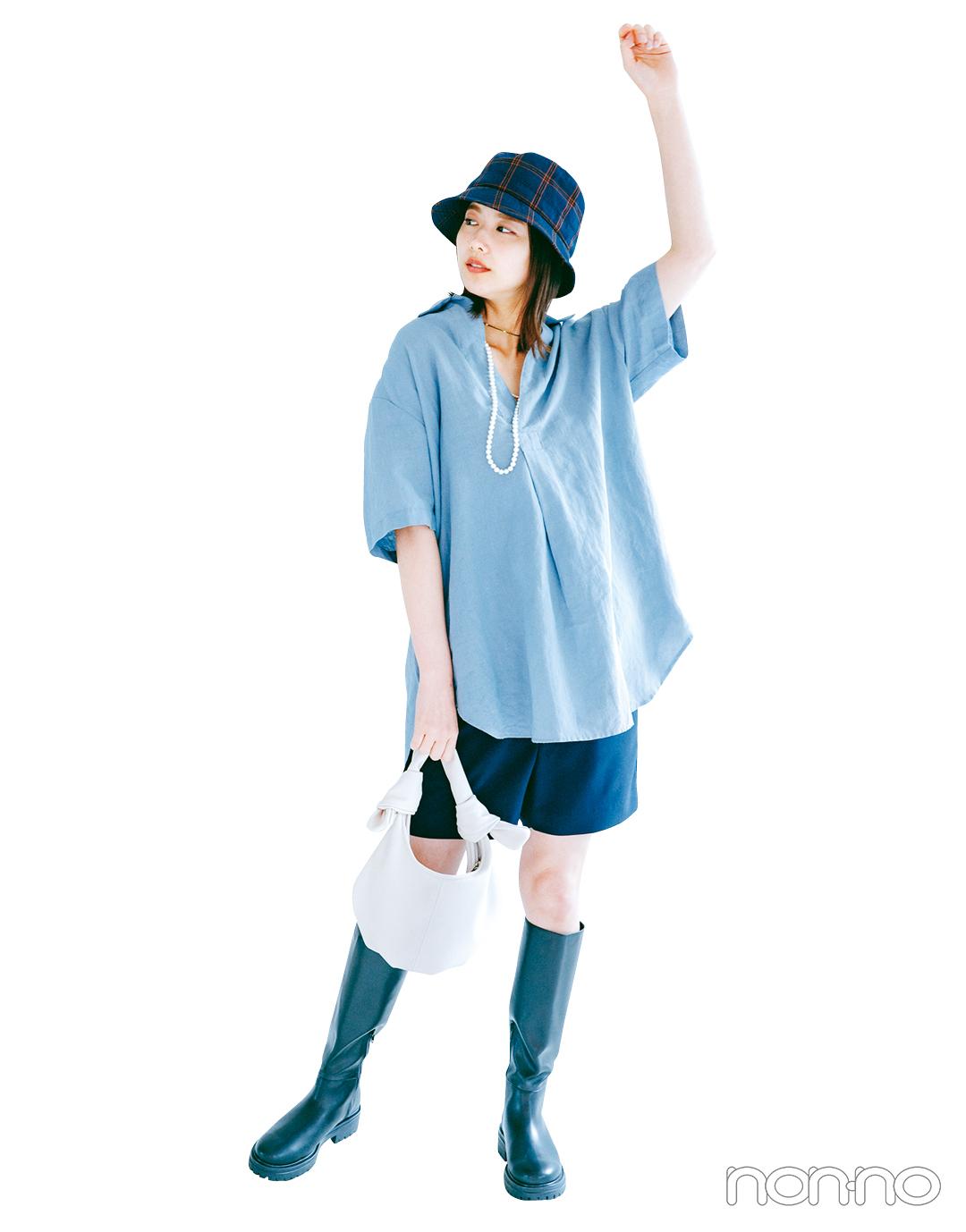 渡邉理佐の盛れトップス(デコルテ魅せシャツ)のカット2