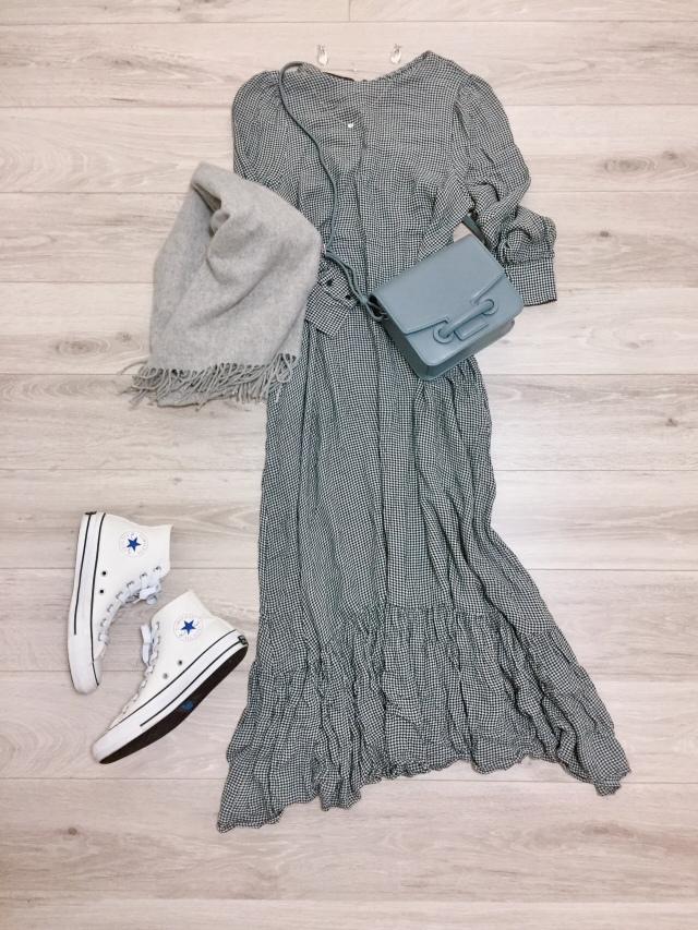UNIQLOカシミヤセーター着まわし【momoko_fashion】_1_1-1
