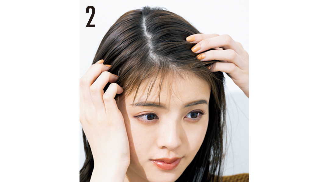 猛暑でもヘア崩さない女子★ 髪を下ろしたい日は簡単ねじりアレで盛る!_1_5