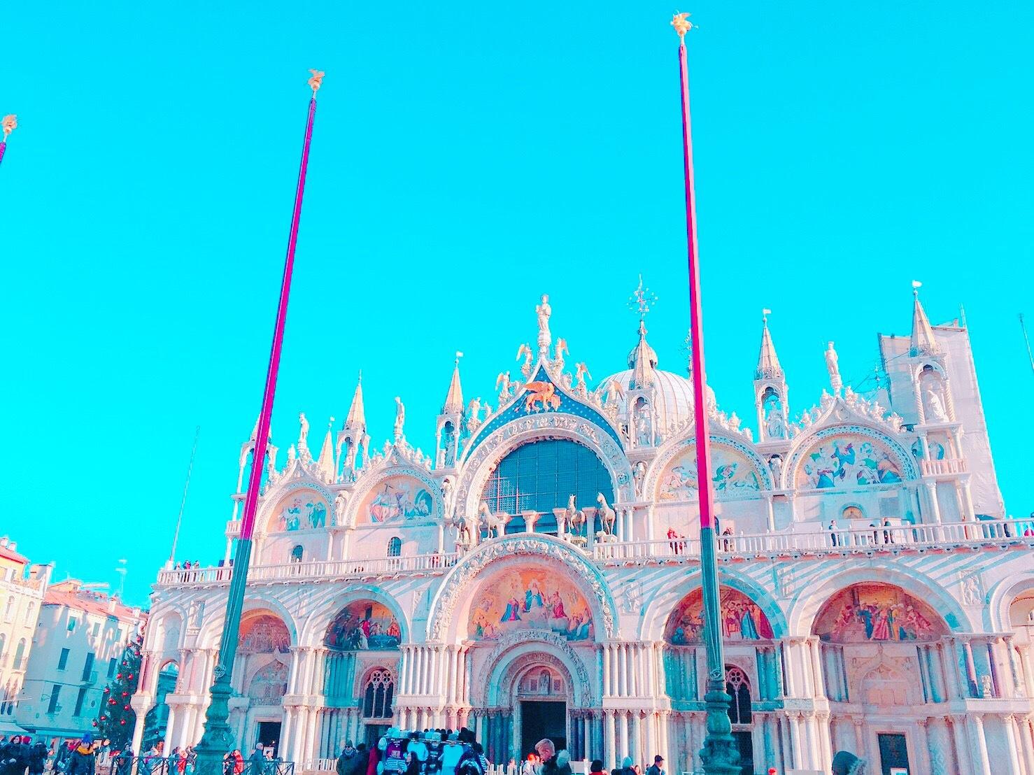 ロマンチックなイタリア旅行 --水の都【ベネチア】を観光--_1_4-1