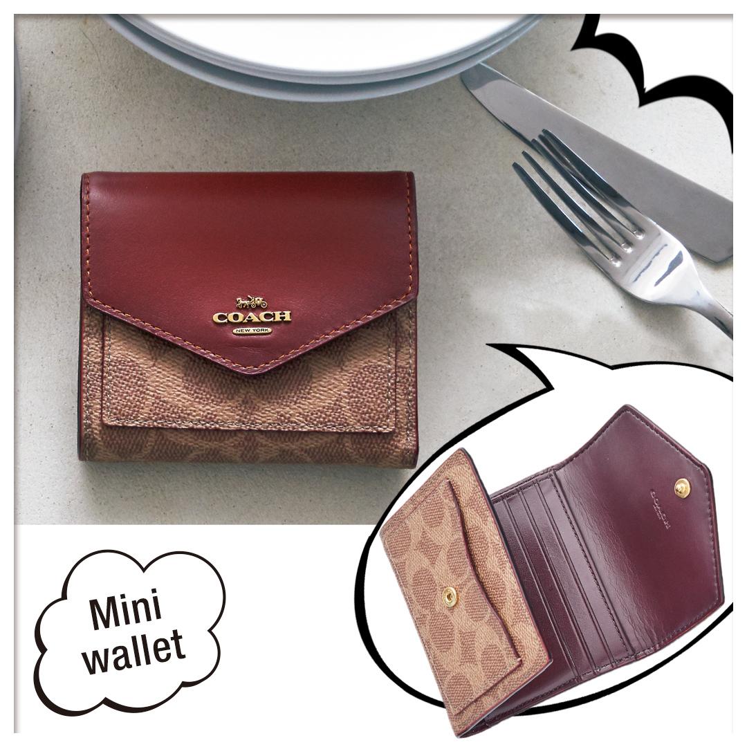 official photos b517b 4ccde コーチのミニ財布は、思ったより入る! 機能的で収納力たっぷり ...