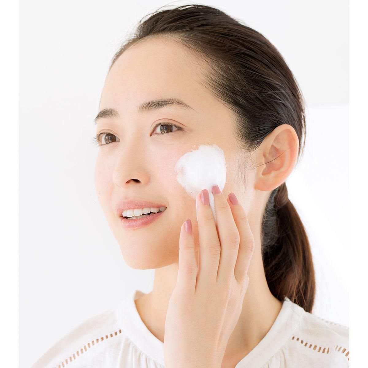 洗顔のルール_短く洗う