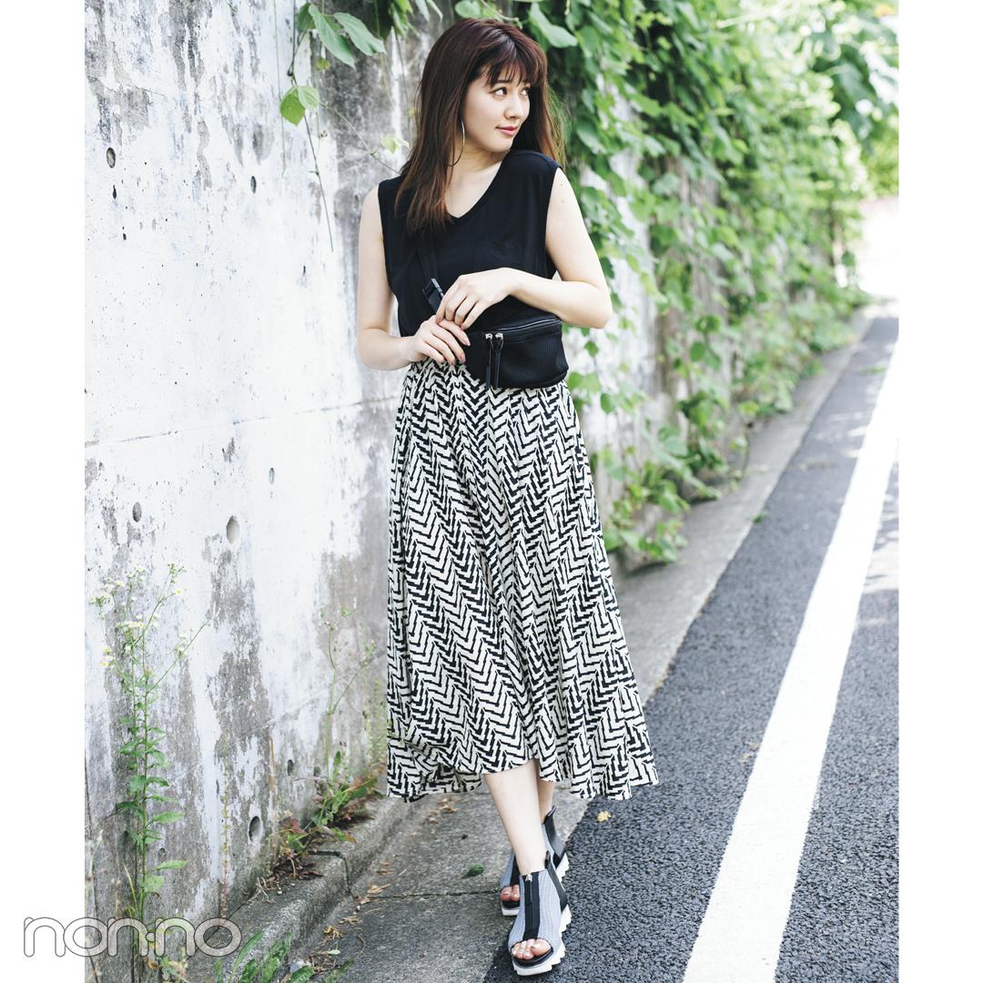 渡邉理佐も私服で登場★ノンノ専属モデルの夏の旅行コーデをのぞき見♡ _1_1-4