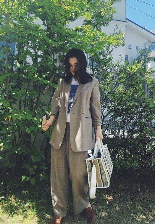 春のジャケットセットアップスタイル_1_1