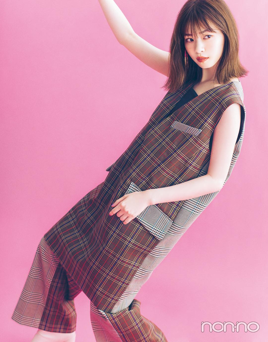 秋ファッションで魅せるモデルの顔。 西野七瀬フォトギャラリー_1_1