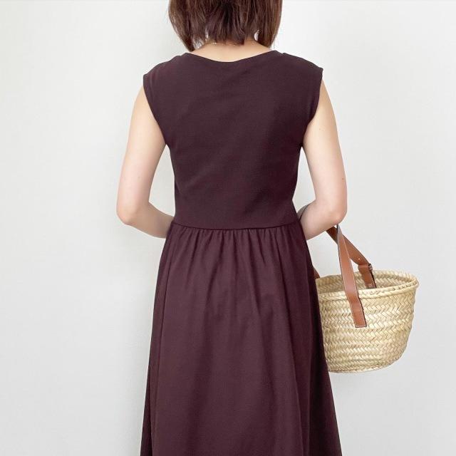 GUで一目惚れ♡スタイルがよく見えるワンピース【tomomiyuコーデ】_1_3