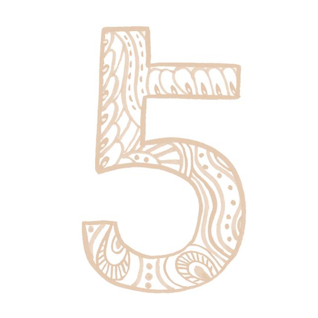 イヤーナンバー5