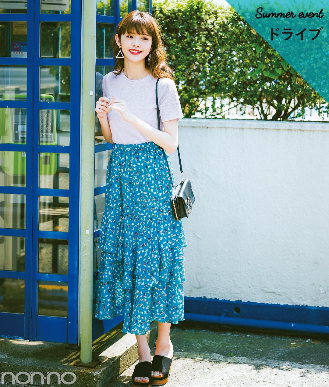 夏色プチプラ★ロングスカート、今買い足してもこんなに着回せる実例&カタログ!_1_3-2