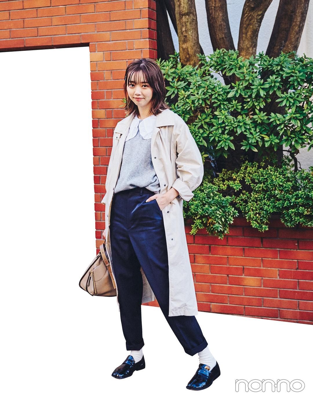 江野沢愛美の冬私服♡ ZARAのブラウスを効かせたガーリーコーデに注目!_1_5